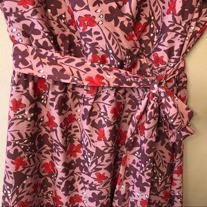 Modcloth Dresses - ModCloth Faux Wrap Dress, Fully Lined, Sz XL